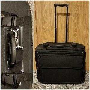 Handbags - Deluxe Rolling Briefcase Laptop Bag